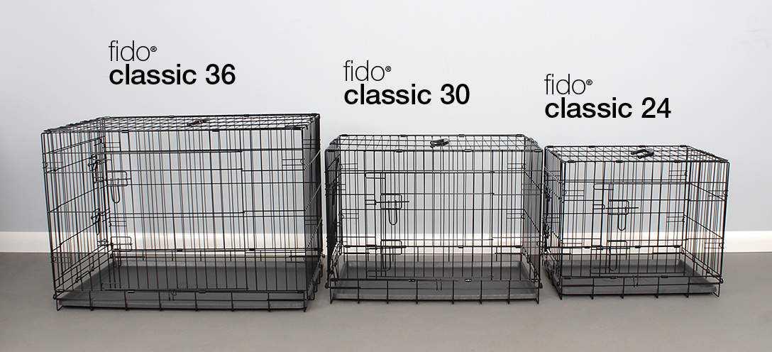 Quelle taille de cage pour un chien?